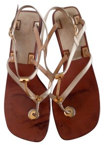 Louis Vuitton Beige Sandals