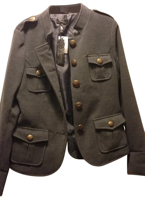 Preload https://item1.tradesy.com/images/buffalo-david-bitton-charcoal-grey-military-inspired-lined-size-8-m-128170-0-0.jpg?width=400&height=650