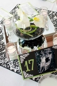 White 48 Silk Calla Lillies We Used For The (3/Bowl) Centerpiece