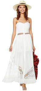 White Maxi Dress by Nasty Gal