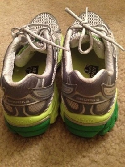 Brooks Brothers Lime/Green/White Athletic