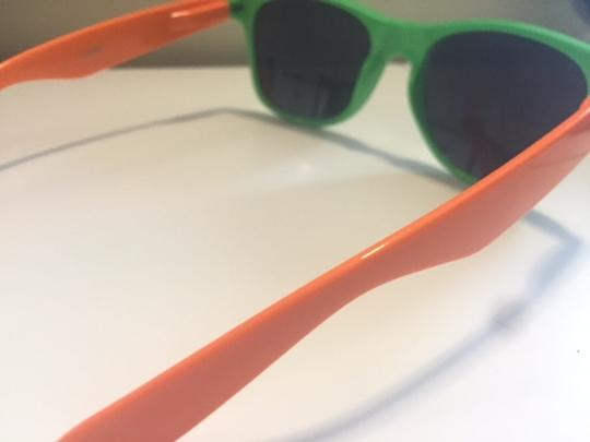 c89d686ba479 Macy s Green and Orange Sunglasses - Tradesy