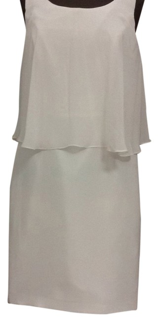 Item - Ivory 5024sch Knee Length Cocktail Dress Size 14 (L)