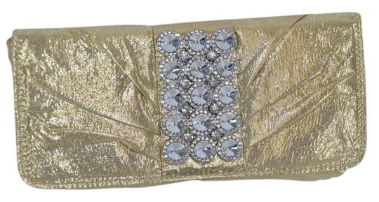 Preload https://item5.tradesy.com/images/fashion-evening-rhine-stone-evening-bagclutch-size-medium-gold-fabric-clutch-1282024-0-0.jpg?width=440&height=440