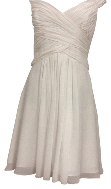 Item - 5017sch Ivory Knee Length Cocktail Dress Size 18 (XL, Plus 0x)