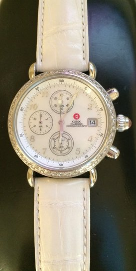Michele CSX Diamond Chronograph