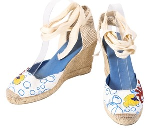 Coach Bubble Fish Bubbles Canvas Multicolor Wedges
