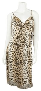 Blumarine short dress Leopard on Tradesy