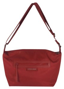Longchamp Nylon Messenger Cross Body Bag