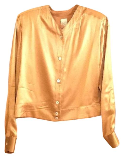 Preload https://item3.tradesy.com/images/joan-and-david-bronze-and-charmeuse-blouse-size-14-l-128227-0-1.jpg?width=400&height=650