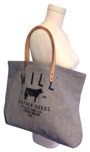 Will leather Tote in Grey