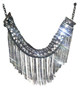 Bloomingdale's Gorgeous bloomingdales huge crystal dalgle statement necklace
