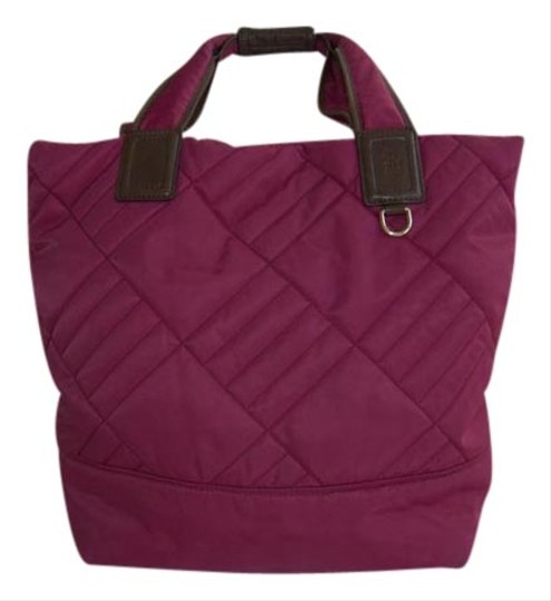 Cole Haan Quilted Tote in fushia pink
