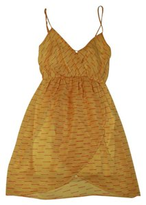 Everly short dress Mustard Above The Knee on Tradesy