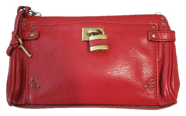 Item - Brick Red Pouch Paddington Cosmetic Bag