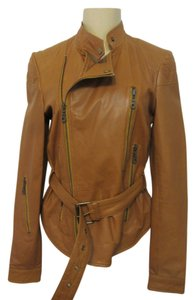 Kenna-T brown Leather Jacket