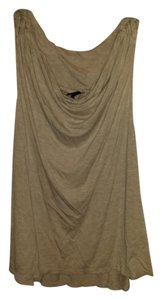 M Missoni Crochet Sleeveless Cotton Top Beige