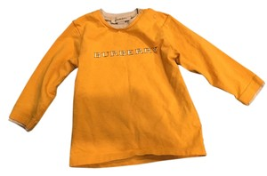 Burberry T Shirt Yellow