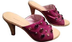 Marc Jacobs 8 Sandal Cork Fuchsia Fuchsia/Cork Pumps