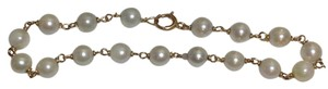 Other 14k YELLOW GOLD BRACELET WITH PEARLS