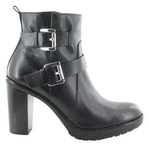 Michael Kors Mk Leather Black Boots