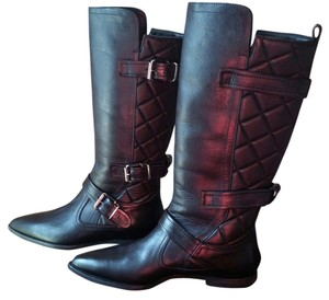 Burberry Gucci Prada Black Boots