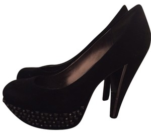 Sam Edelman York Chunky Heels Black Pumps