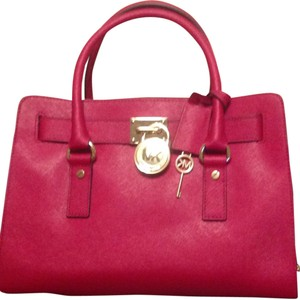 Michael Kors Satchel in Red Cherry