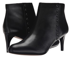 Coach Dress Ankle Zip Up Black Boots