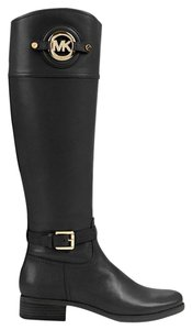 Michael Kors Stockard Tall Riding Black Boots