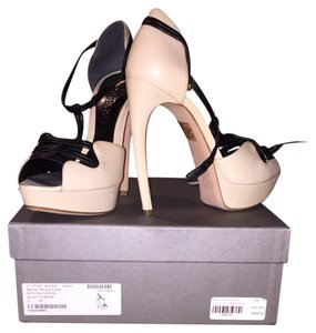 Alexander McQueen Blush/black Platforms