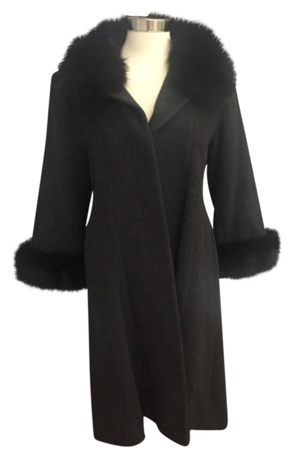 Item - Black Gray Coat Size 8 (M)
