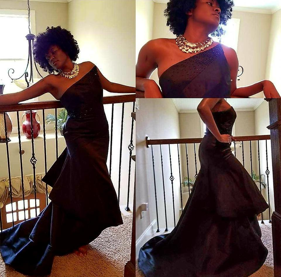 d41b49fc1b8 Monique Lhuillier Ball Gown Red Carpet Prom Asymetrical Gown Dress Image  11. 123456789101112