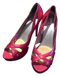 Bakers Heels Pink Platforms