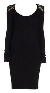 MCQ by Alexander McQueen short dress Black and Gold on Tradesy