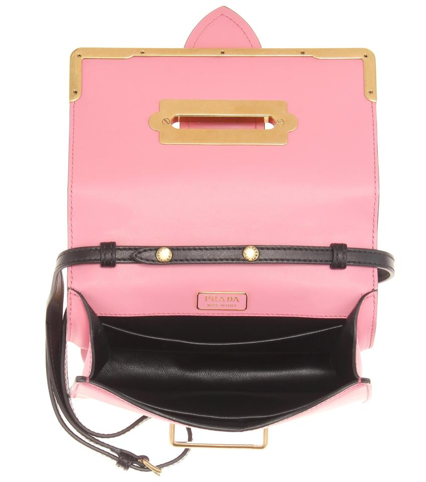 a0937446dc49 Prada Cahier Sold Out Embellished Moon and Stars Shoulder Pink Leather  Cross Body Bag - Tradesy