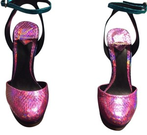 Brian Atwood Muti Color Sandals