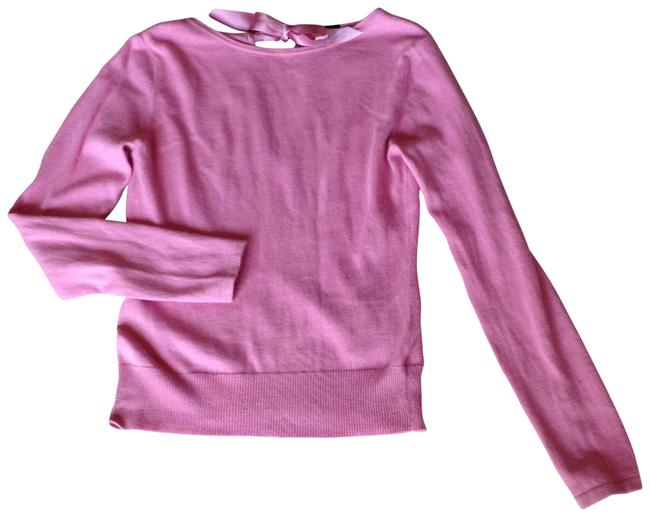 Preload https://img-static.tradesy.com/item/128274/gap-pink-soft-washable-angora-cotton-with-silky-ribbon-tie-neck-neck-sweaterpullover-size-8-m-0-0-650-650.jpg