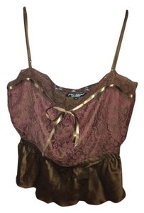 Betsey Johnson Top Brown