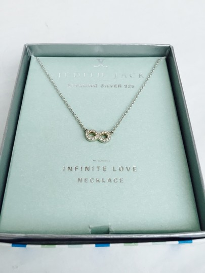 Judith Jack Judith Jack Infinity Love Necklace In Silver