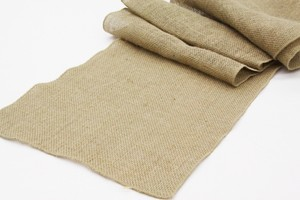 "Burlap Tan 12 Runners 13"" X 108"" Tablecloth"