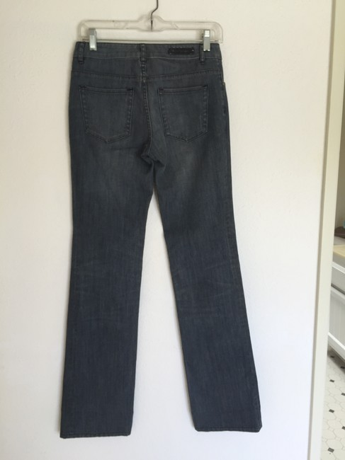 Elie Tahari Trouser/Wide Leg Jeans-Medium Wash