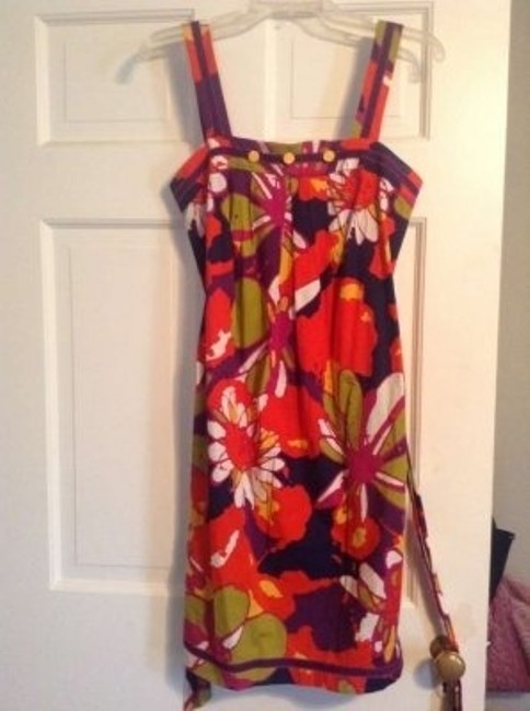 Trina Turk short dress Floral Multi Print on Tradesy