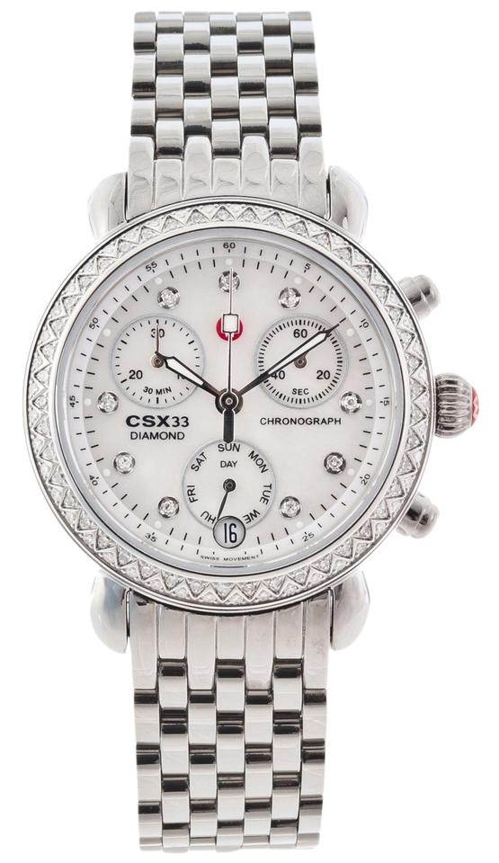 5226a202f Michele NWT MICHELE CSX 33 Diamond Ladies Watch MW03S01A1046 ($1895+TAX)  Image 0 ...