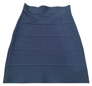 BCBGMAXAZRIA Mini Skirt Royal Blue