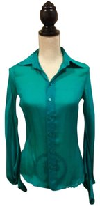 Jean-Paul Gaultier Top Teal