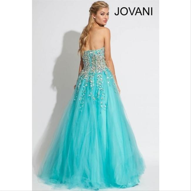 Jovani Prom Ball Gown Strapless Dress
