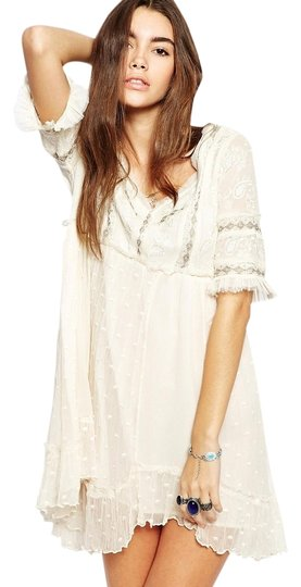 Free People Dress Little Dot Lace Mini - 49% Off Retail high-quality