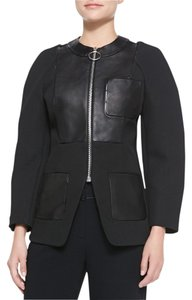 Alexander Wang Leather Jacket Jacket Leather Jacket Black Blazer