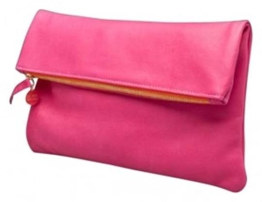 Preload https://item4.tradesy.com/images/clare-v-foldover-cl10002-hot-pink-leather-clutch-128338-0-0.jpg?width=440&height=440